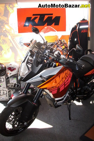 KTM 1190 Adventure ABS orange